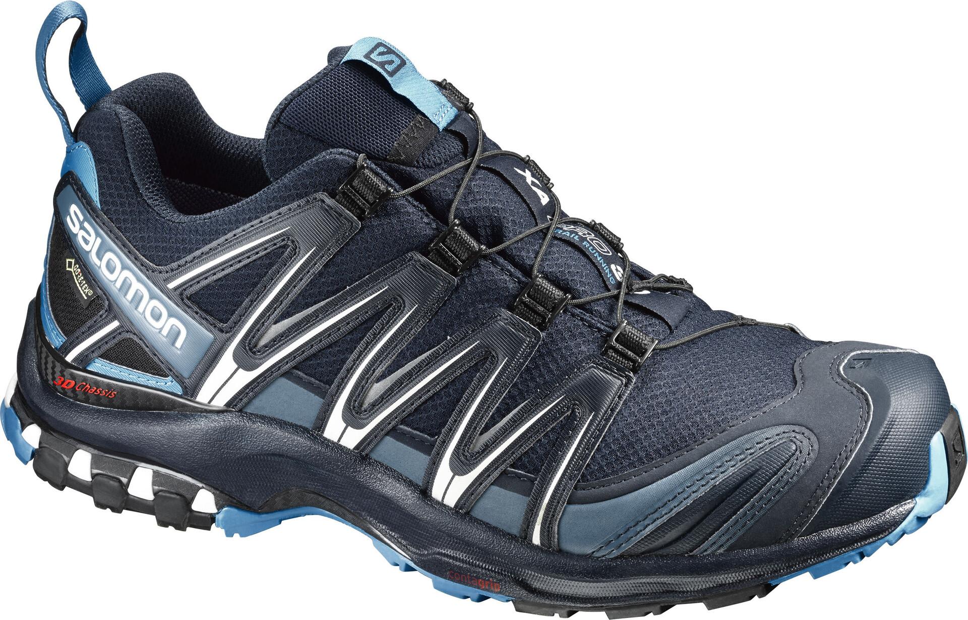 Bleu Pro Salomon 3d Chaussures Gtx Running Sur Homme Xa Campz xodCBre
